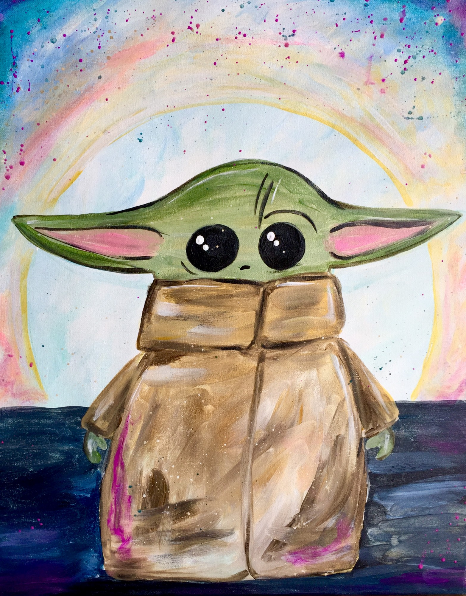 Baby Yoda  $35 SOLD OUT