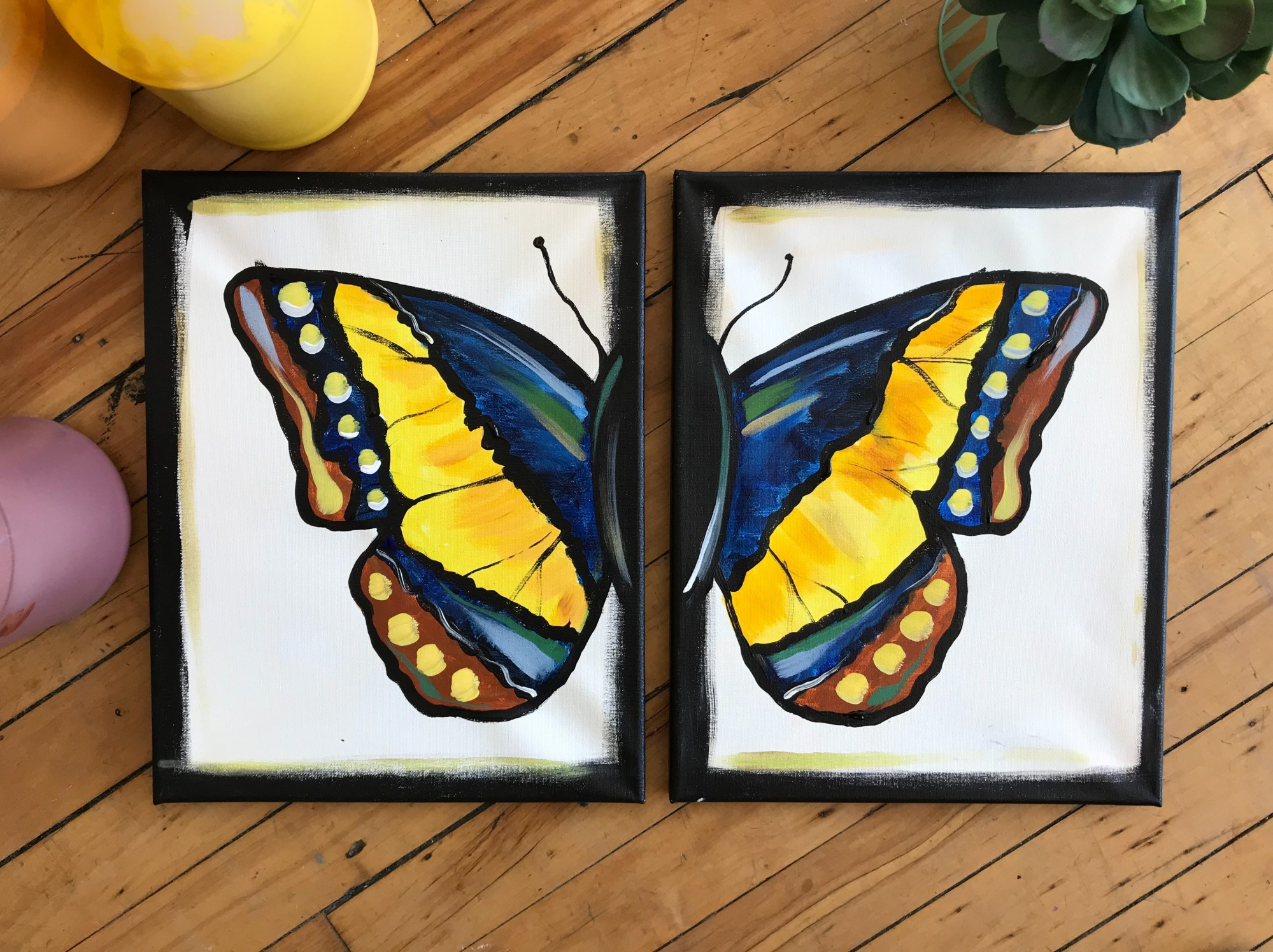 Butterfly Set $25 - WineDown Wednesday