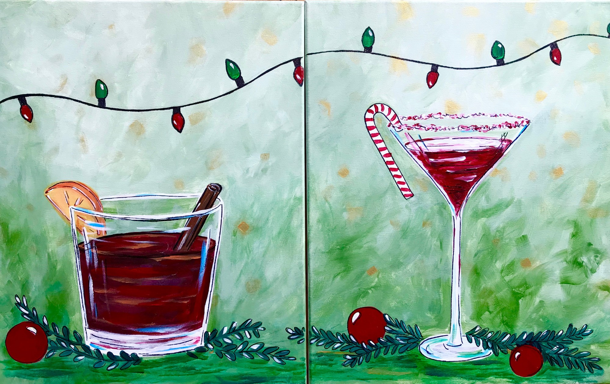 Cheers! Holiday DateNight SPECIAL $25