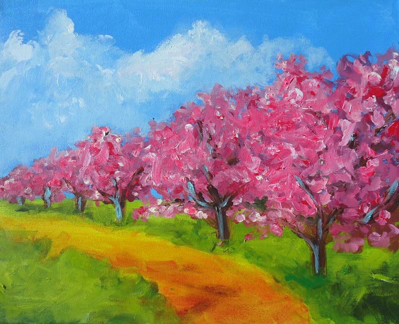 SOLD OUT! Michigan Cherry Blossoms -  In Studio