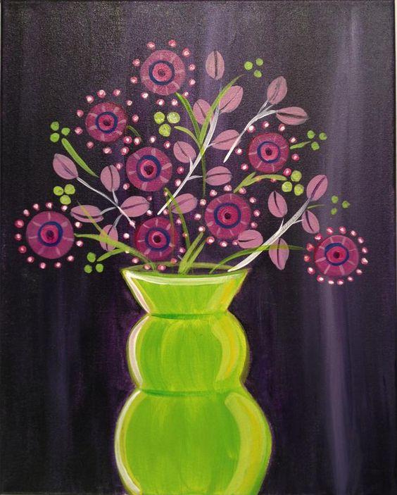Funky Vase Downtown Gr Location Brush Studio