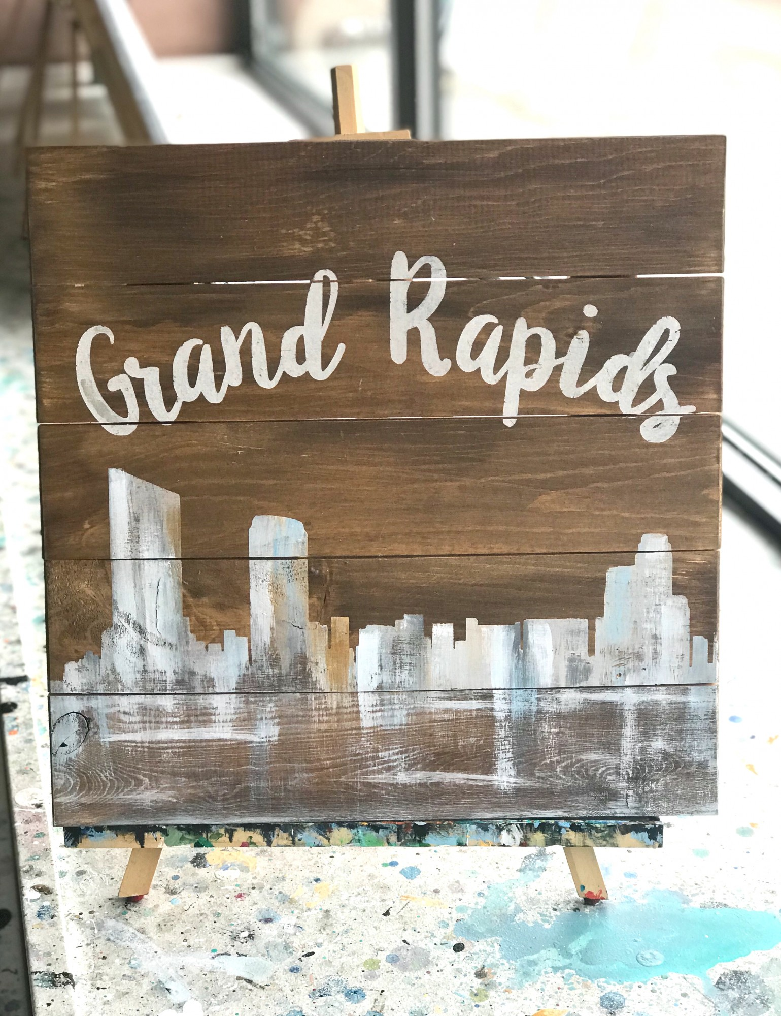 Love Your City Wooden Sign Class - Downtown GR