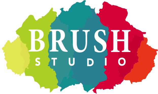 brush studios, home kits, classes, events