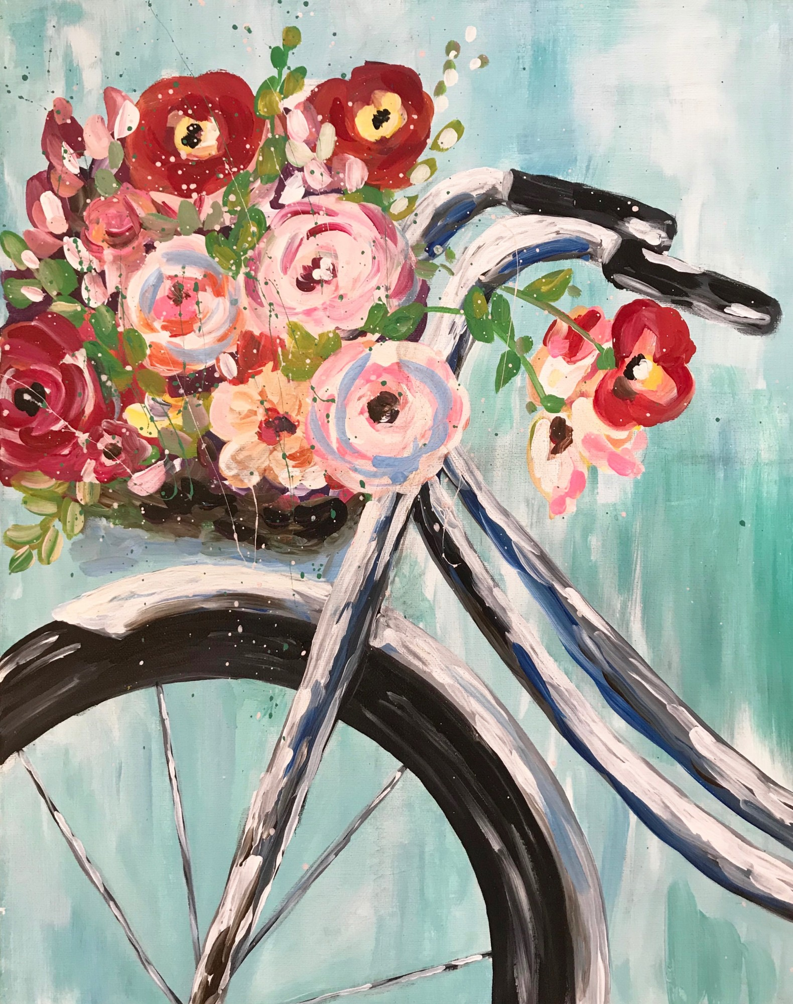 Bloomin' Bicycle