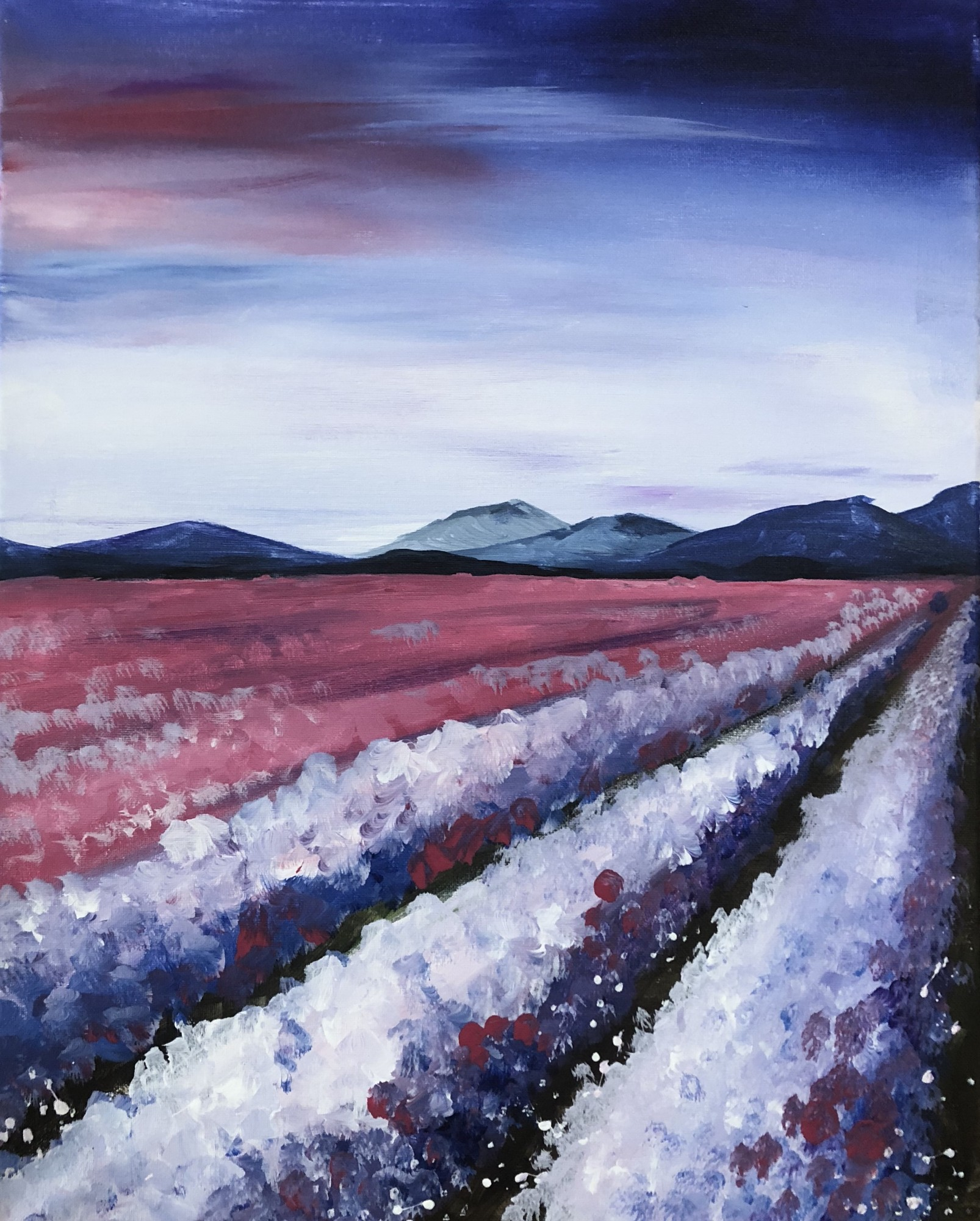 Lavender Field WineDown Wednesday $25 -Downtown GR