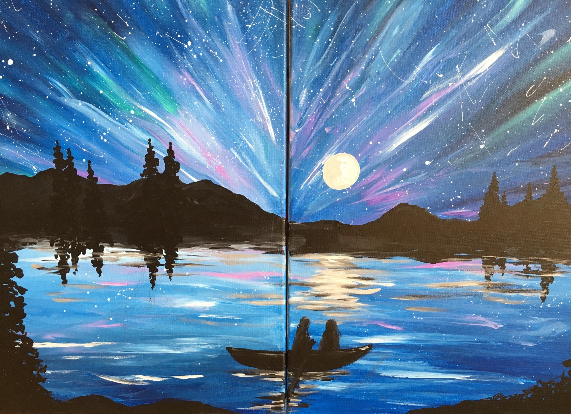 SOLD OUT! Night Sky DateNight! $30  - In studio