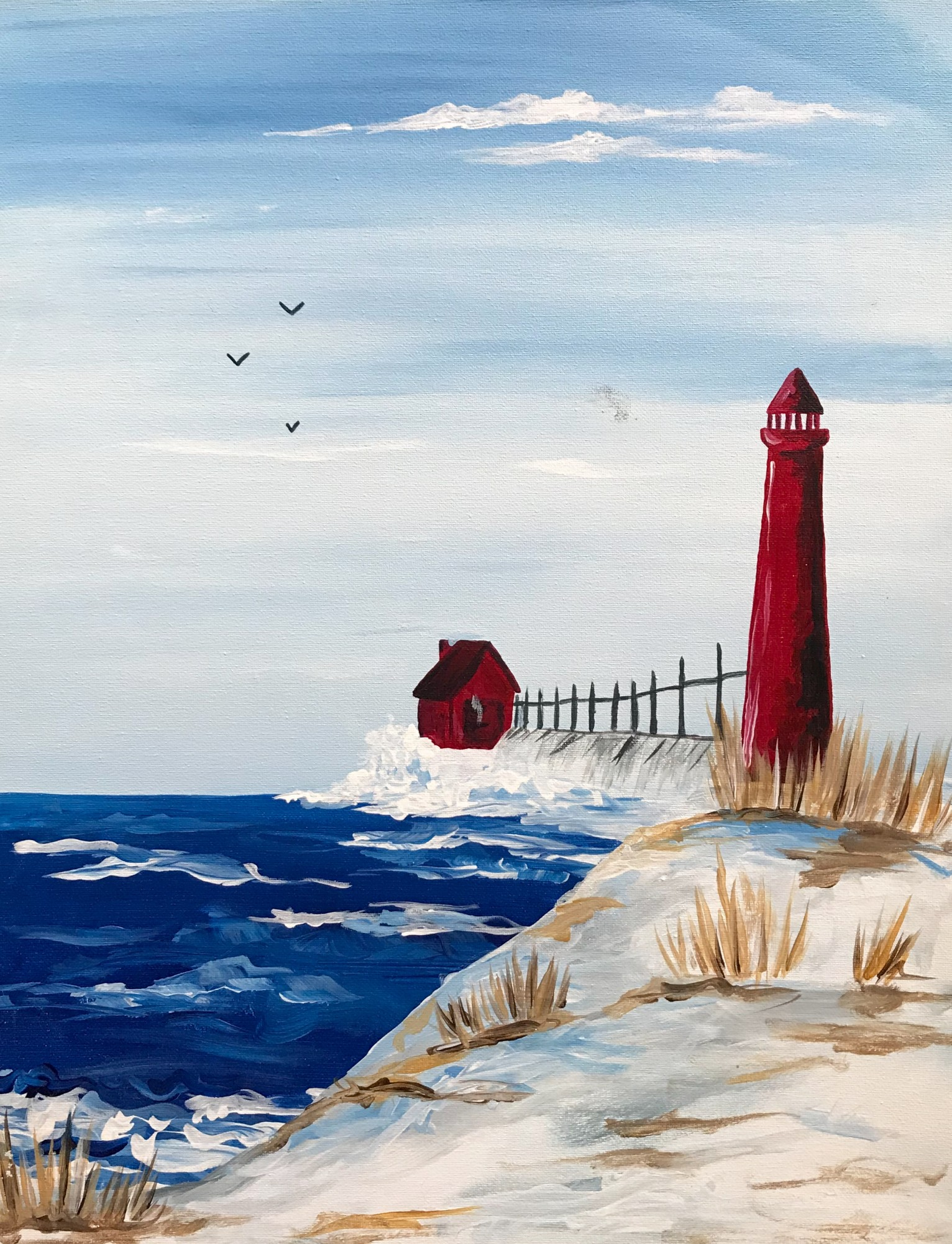 Winter Lighthouse TGIF SPECIAL $30