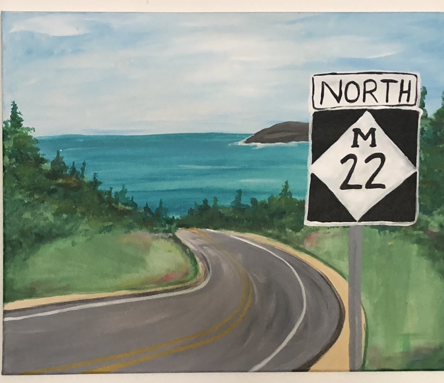 M22 - Michigan Roadway!