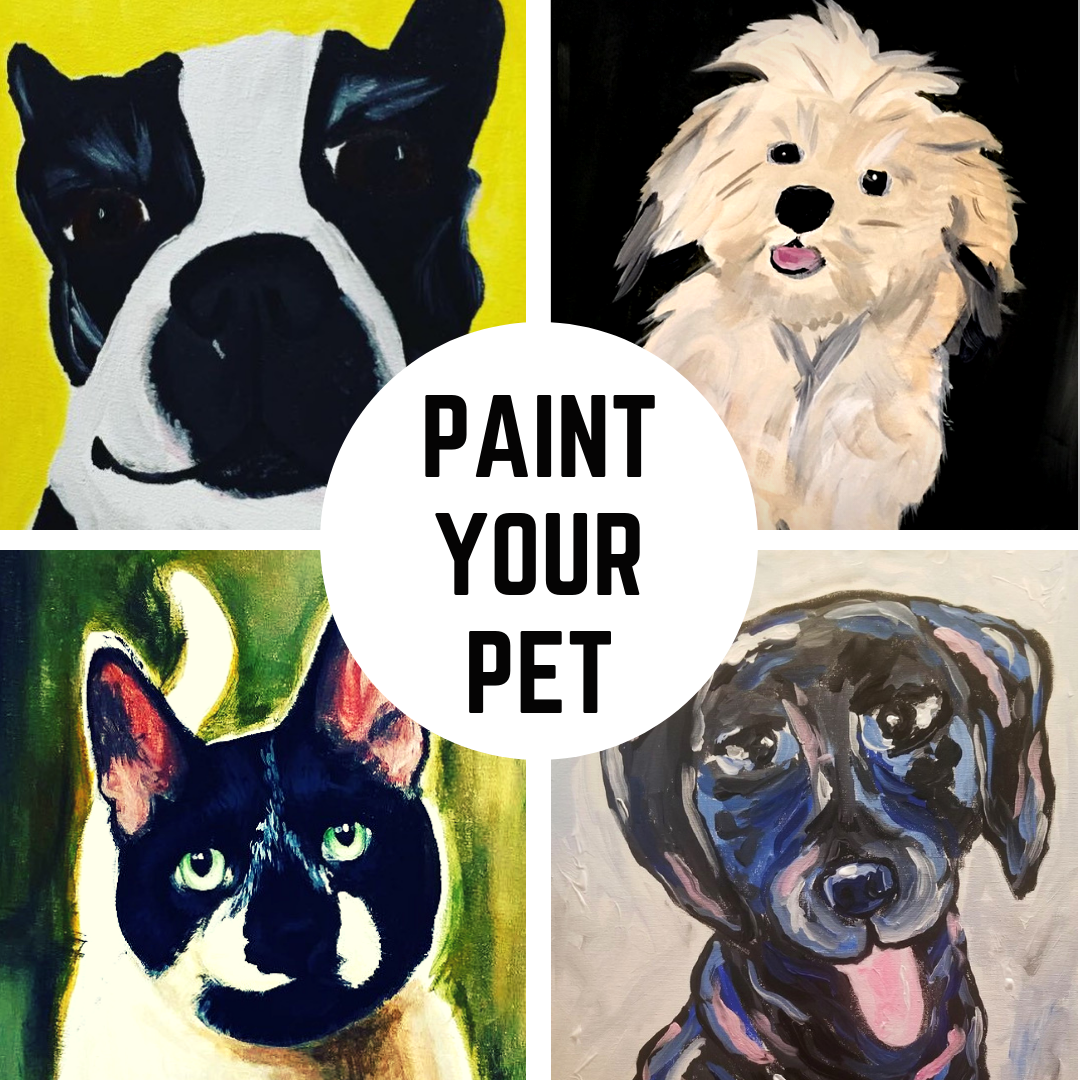 Paint Your Pet - Custom Pet Painting Workshop Downtown GR