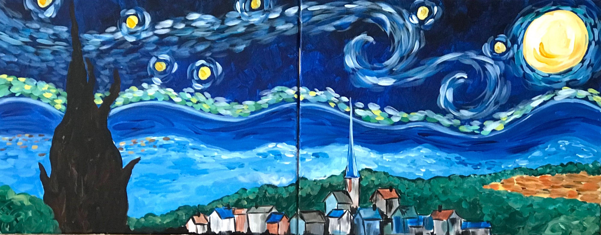 Starry Sky Date Night $25 - Downtown GR