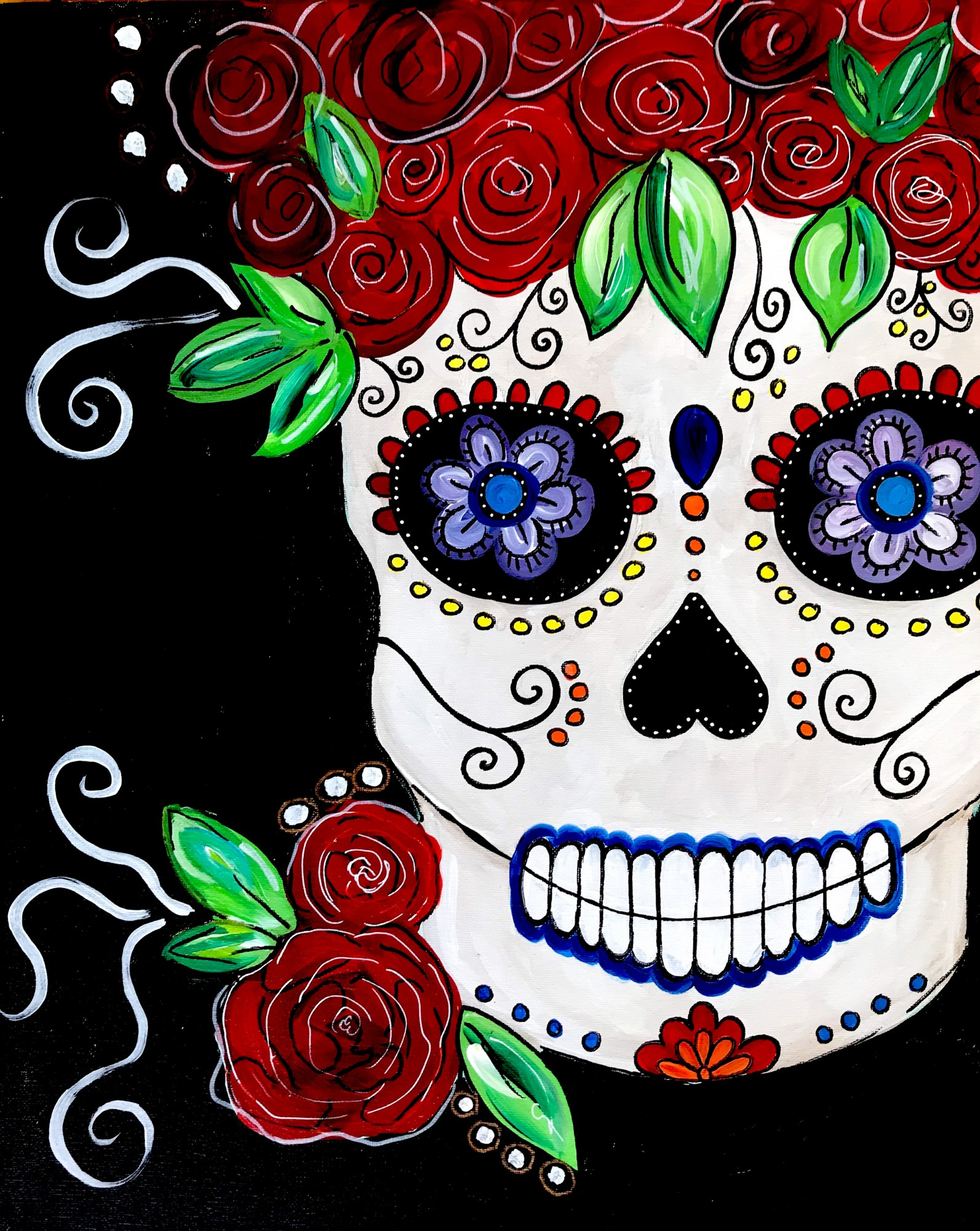Sugar Skull Halloween Special Event! $35
