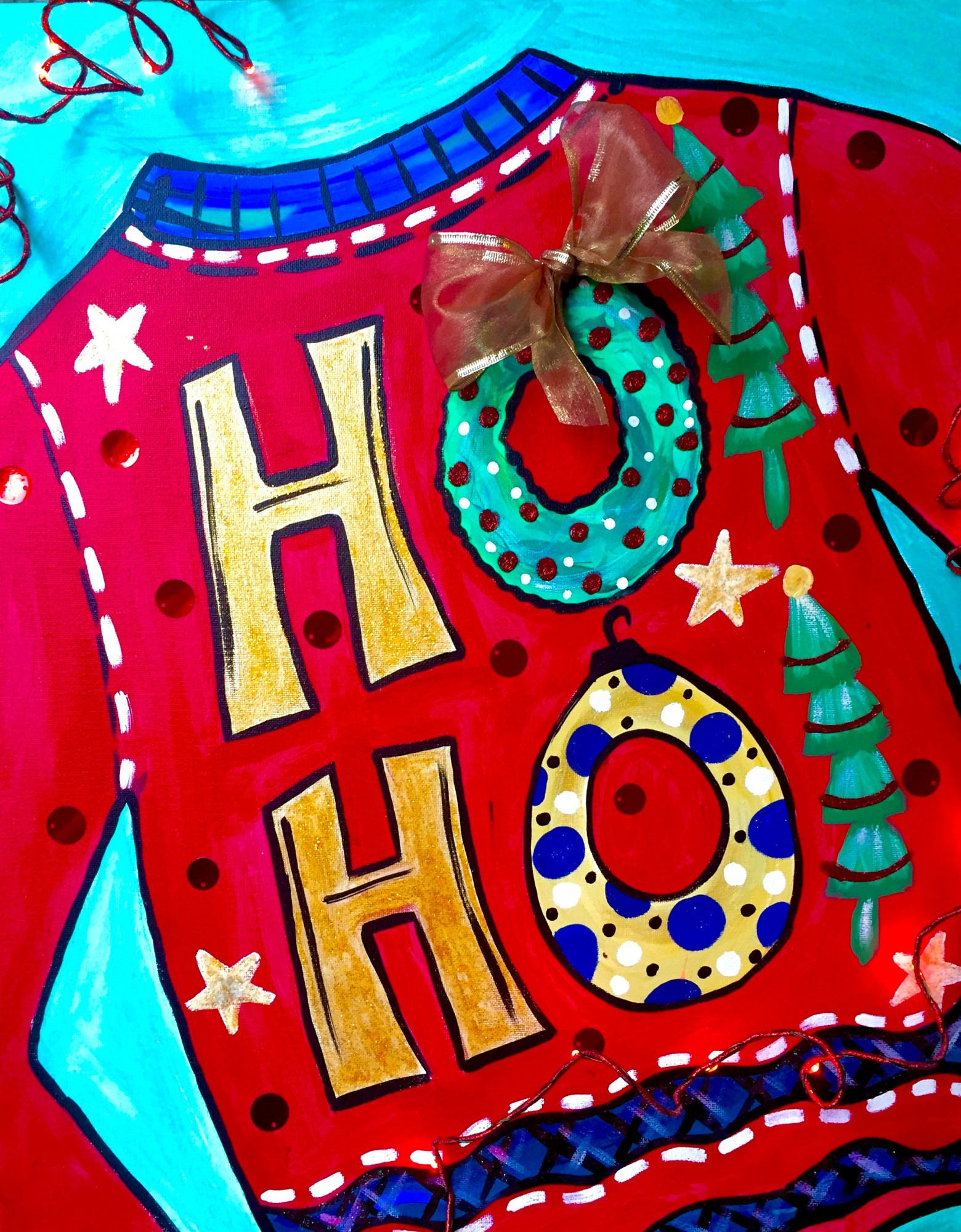 Ho-Ho-HoLiDaY Awesome Sweater PARTY! $35