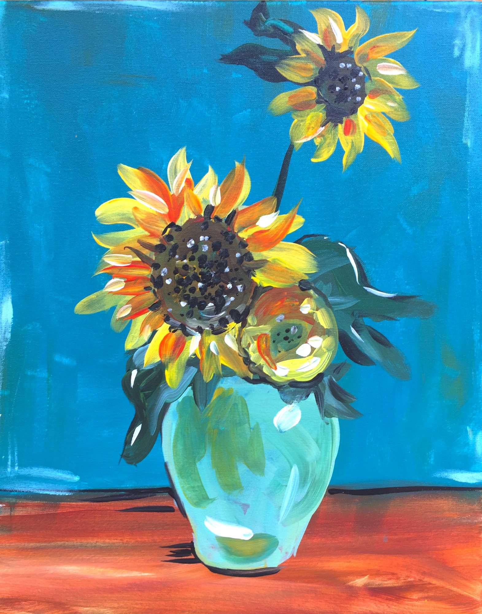 Van Gogh Sunflowers - Downtown GR