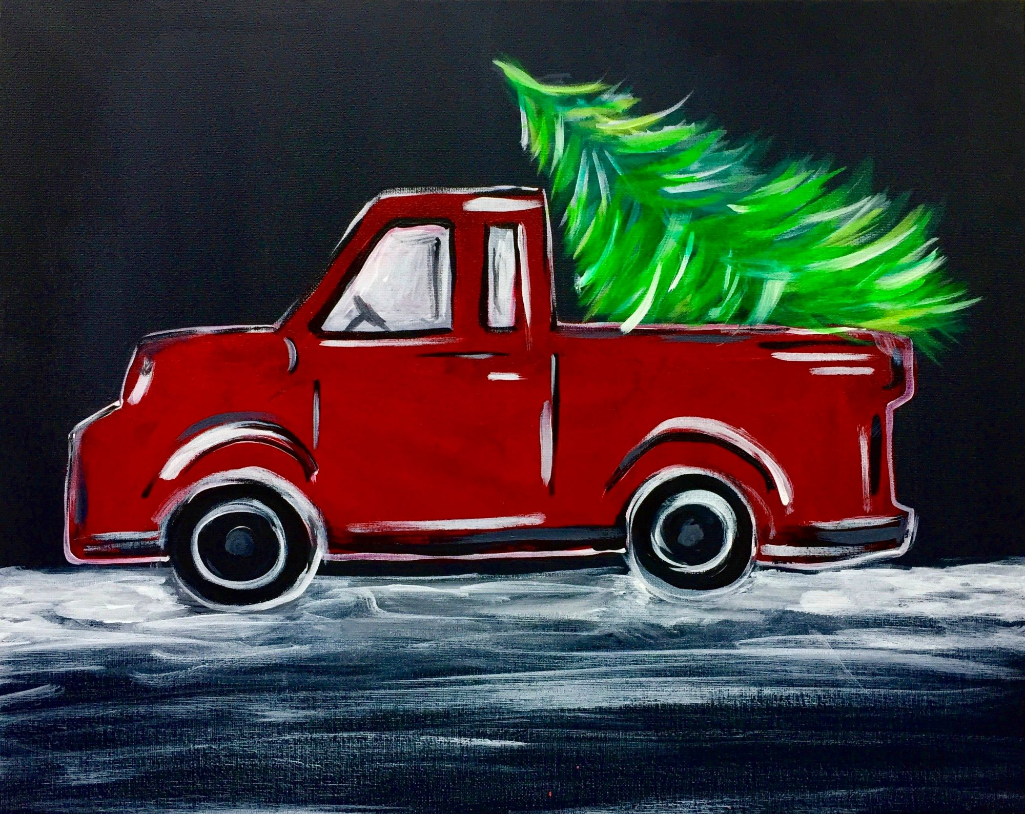 Vintage Truck -  Downtown GR - Wine Down Wednesday $25 Class & 1/2 Bottles of Wine