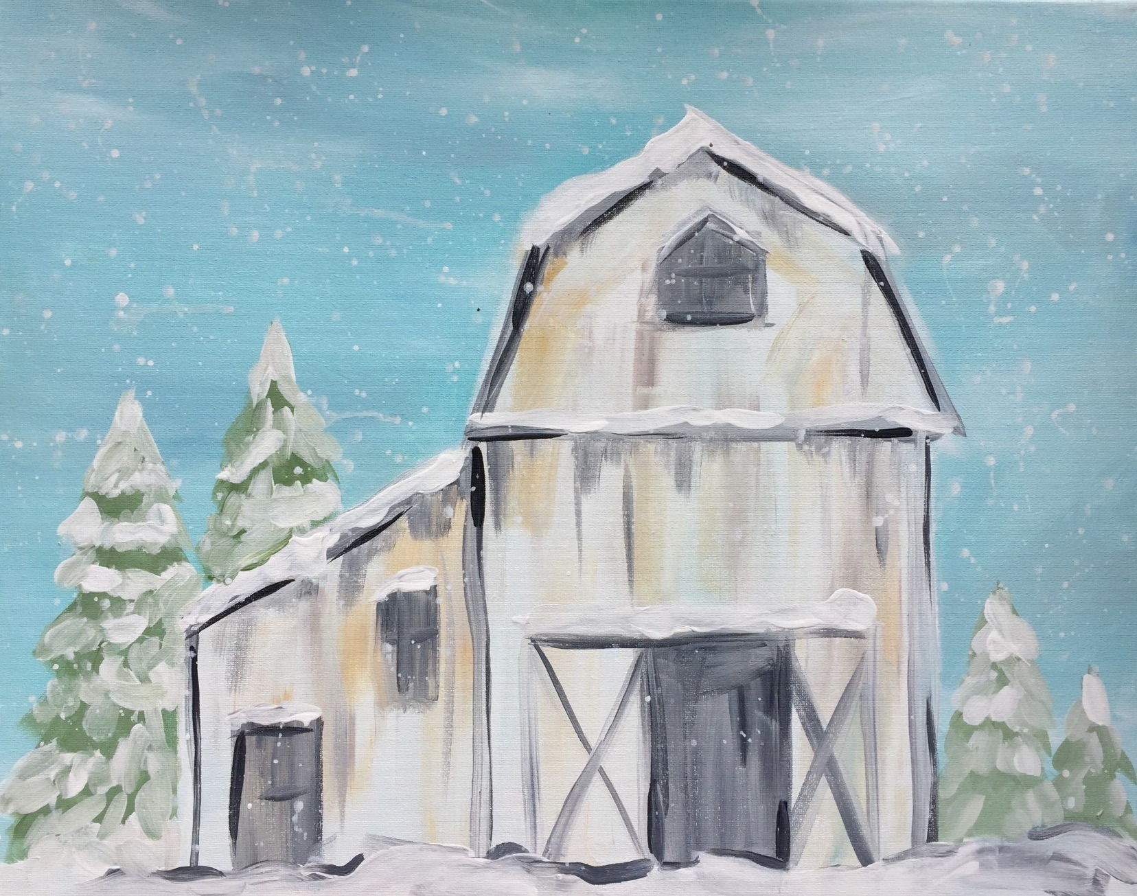 WinterWhite Barn - Downtown GR