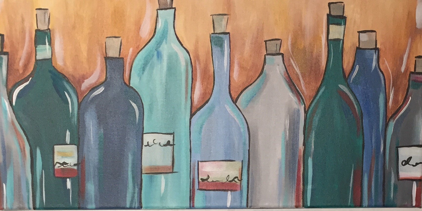 Wine Bottles - Downtown GR - ONLY $25 - WINE DOWN WEDNESDAY
