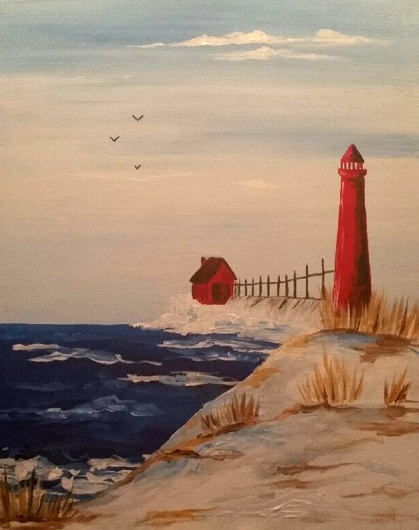 Winter Lighthouse - Downtown GR - ONLY $25 Wine Down Wednesday