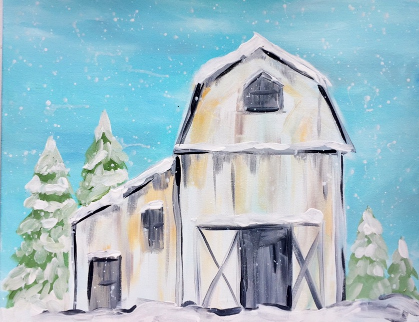 Winter White Barn  - Downtown Grand Rapids
