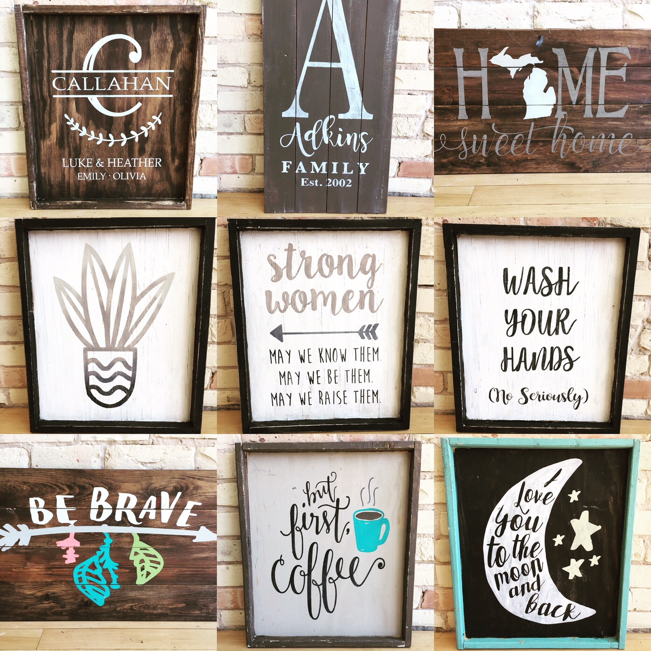 Wooden Sign Workshop - Downtown GR